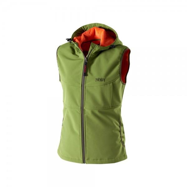 Softshell-Weste Damen 'Yunga' cedar green