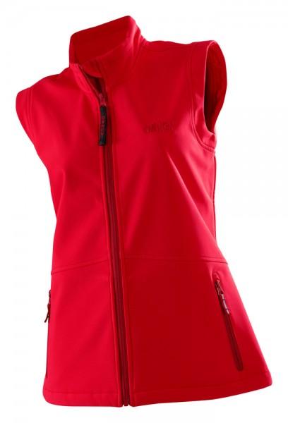 Damen Softshell Vest 'Basic' red