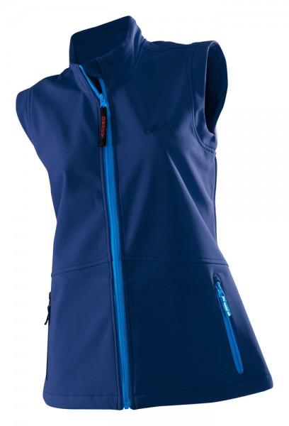 Damen Softshell Vest 'Basic' blue