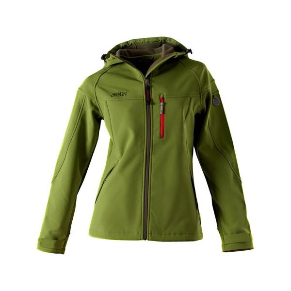 Softshell-Jacke Damen 'Cerro' cedar green