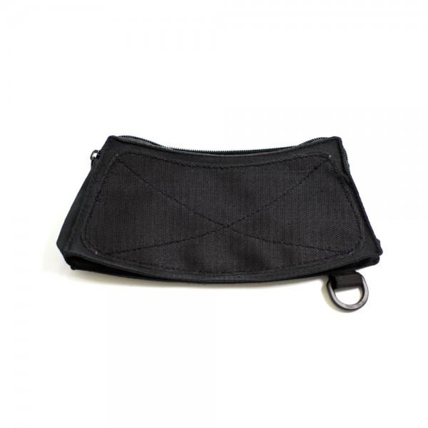 Seitentasche schwarz